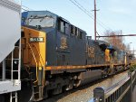 CSX 138 fourth on Q404